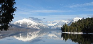 Glacier Lake panorama