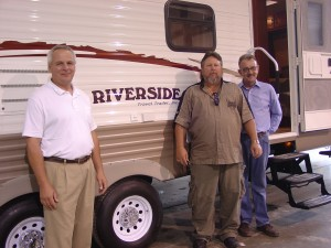 Riverside Travel Trailer Inc.'s Mark Gerber, Ken Licklider and Kean MacOwan