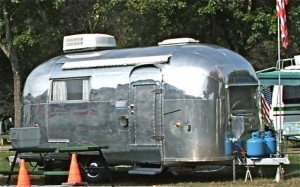 Airstream (1962) at TCT Rally in 2009