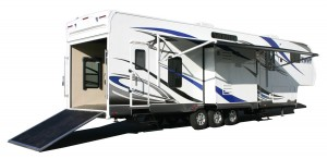 MVP RV's Envy toy hauler