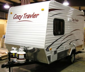Cozy Traveler lightweight travel trailer