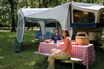 Cabana Lightweight RV Dome Awning
