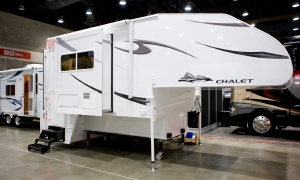 Chalet truck camper
