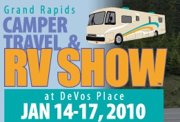 Grand Rapids RV show logo