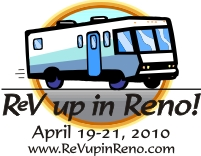 ReV up in Reno 2010 logo