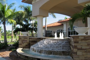 The clubhouse at Naples Motorcoach Resort.