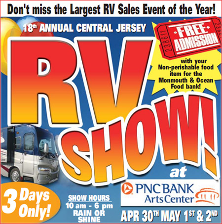 New Jersey RV Show logo