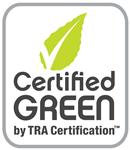 TRA certified logo