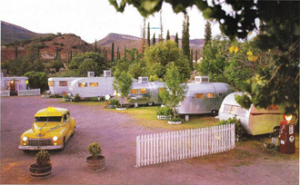 Shady Dell RV park, Bisbee, Ariz.