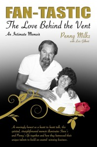 The cover of Fan-Tastic Vent by Penny Milks.