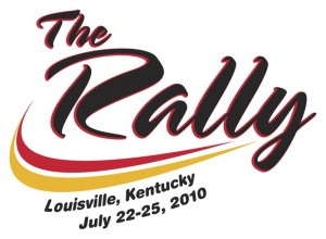 The Rally 2010 logo
