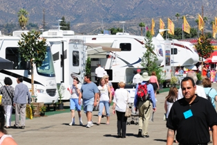 Photofrom a past California RV Show.