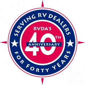 RVDA 40th anniversayr logo