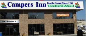 The new Campers Inn dealership in Mocksville, N.C.