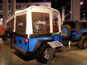 Licin' Lite trailer shown at last week's SEMA Show in las Vegas.