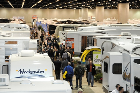Photo from past National RV Trade Show.