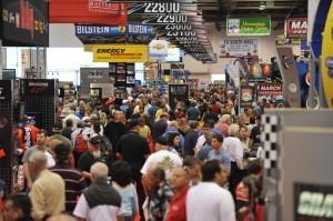 Crowded aisles at this week's SEMA Show