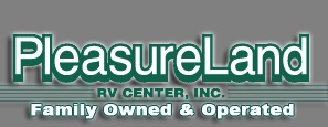 Pleasureland RV logo
