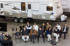 A panel of community members returned one year later to Keystone RV in Goshen, Ind., to once again listen to President Barack Obama's State of the Union address and discuss it with an ABC News team led by Deborah Roberts.
