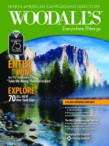 33 KOAs make top list in Woodall's 2011 North American Campground Directory