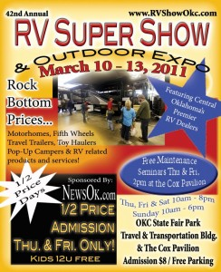 Ojlahoma's biggest RV show