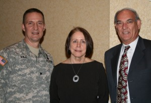 American Recreation Coalition President Derrick Crandall (right) meets with Col. Thomas Kula, Division Commander, U.S. Army Corps of Engineers, left, welcomed the Honorable Jo-Ellen Darcy, Assistant Secretary of the Army, Civil Works, and American Recreation Coalition President Derrick Crandall