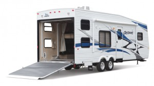 Jayco Octane toy hauler