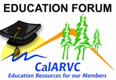 CalARVC Education Forum logo