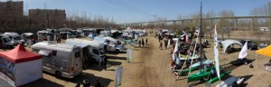 The combined RV and camping show featured everything from motorized and towable RVs to tents, ATVs and boats.
