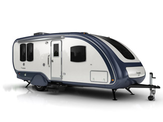 Evergreen Element shown at Oregon RV Show and Sale