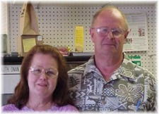 Jane and Ray Boyd, owners of Ray's RV