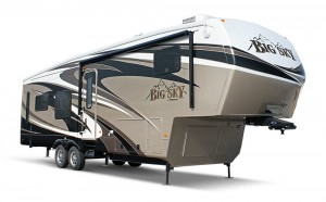 Montana' the nation's best-selling fifth-wheel 10 years running.