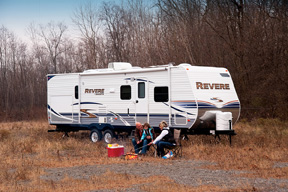 Shasta Revere travel trailer
