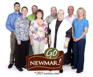 The Newmar Family Road Show team.
