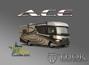 Thor Motor Coach's A.C.E. motorhome