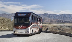 Luxury motorhome from Newell Coach