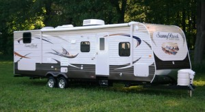 Sunset Creek travel trailer