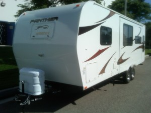 Panther travel trailer