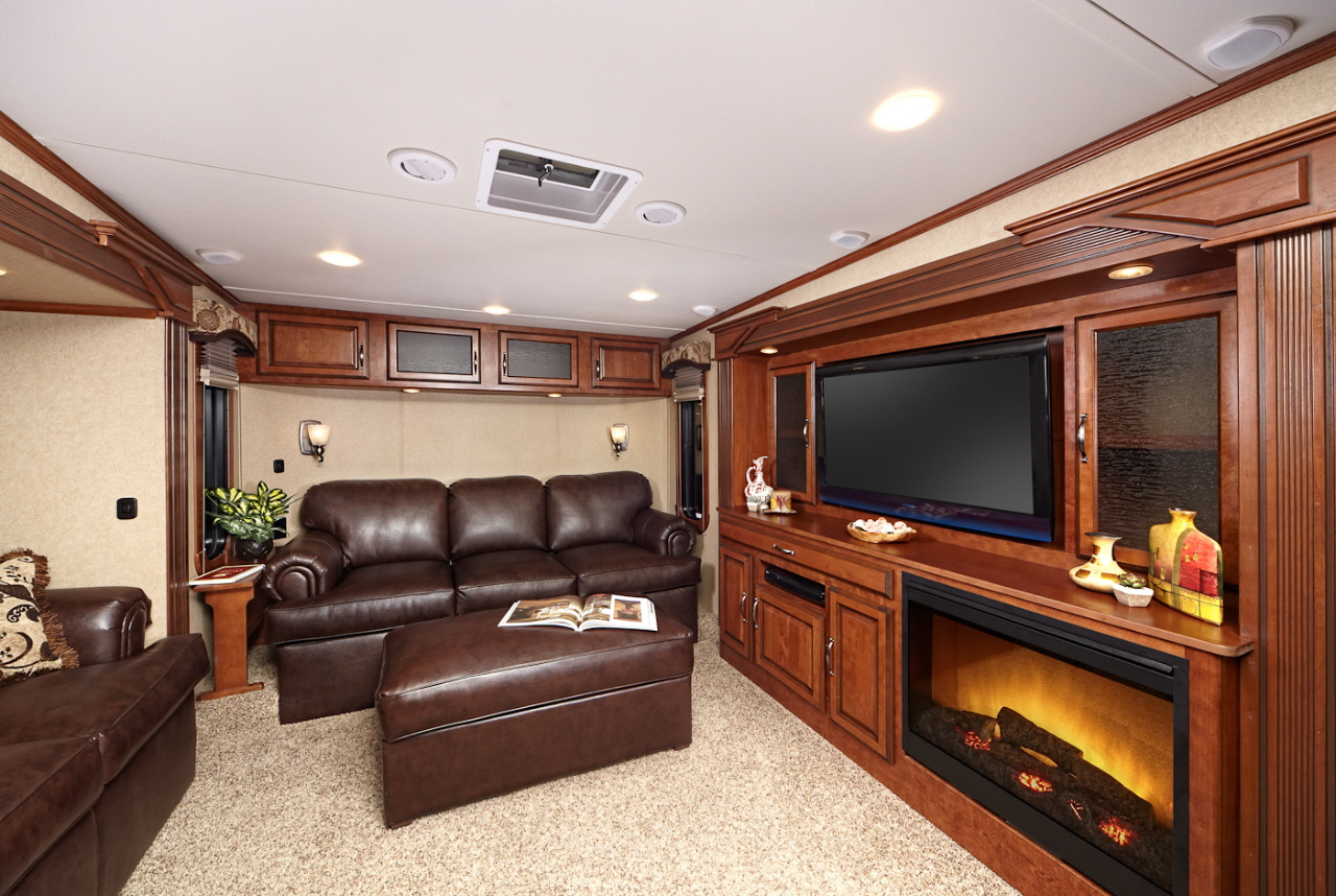 Redwood Fiver Floorplan Meets Full Timers Needs RV Business
