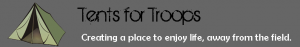 tents for troops logo