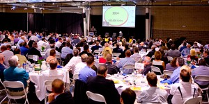 Over 550 people attendeds this morning's Power Breakfast