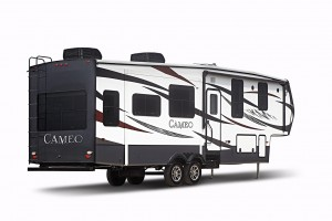 Cameo fifth-wheel