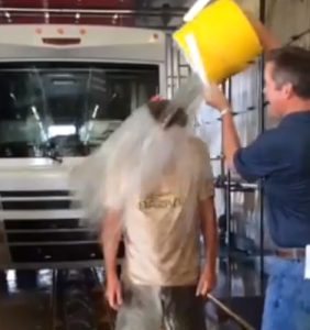 Winnebago's Randy Potts raises money for ALS taking the ice bucket challenge