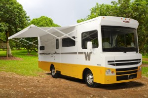 Winnebago Brave will be on display at