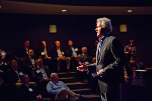 GE CEO Jeffrey Immelt speaks to RV industry executives