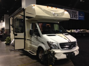 Jayco rolled out a new Melbourne motorhome at dealer show